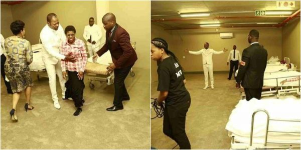 Fake Miracle: Pastor Alph Lukau storms hospital to heal the sick