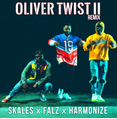 Skales ft. Falz, Harmonize – Oliver Twist (Remix) II