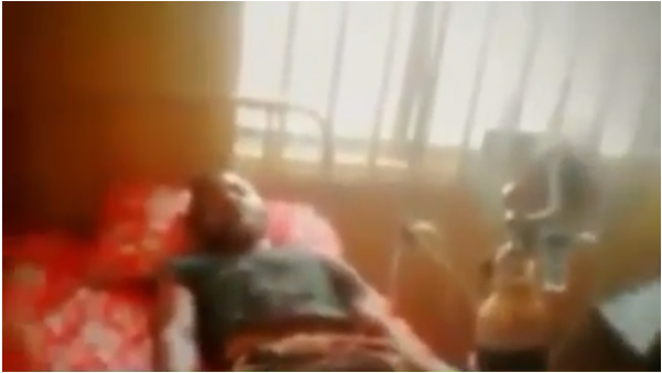 Watch video of a lady placing curses on the corpse of a Nigerian man who died while having sex with a side chick