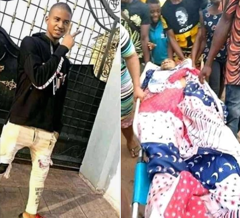 Police station, DPO residence, and customary courtburnt down by angry youths after a young man was allegedly killed by a policeman in Abia (photos/videos)