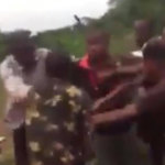 Policemen who fought each other in Ebele