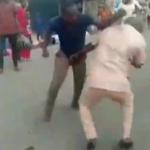 video of Men fighting over women