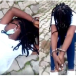 viral video of a Nigerian girl