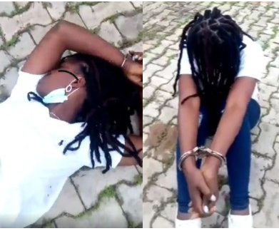 See what the police did to this young lady on a viral video and why IGP ordered an investigation