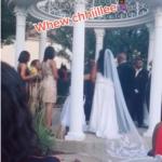 Woman crashes wedding
