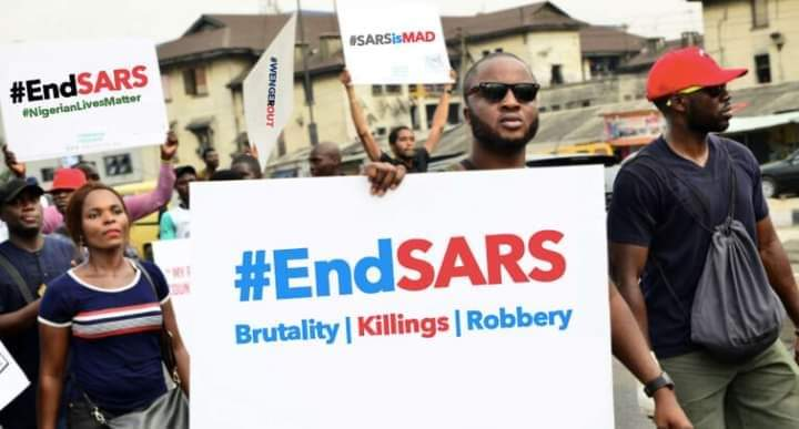 End sars protest in nigeria